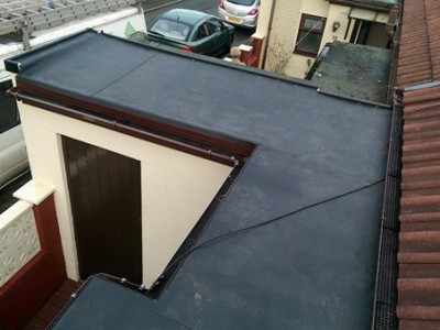Rubber Roofing After