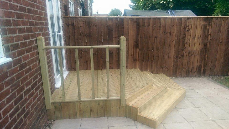 Fencing decking sunderland for Decking special offers