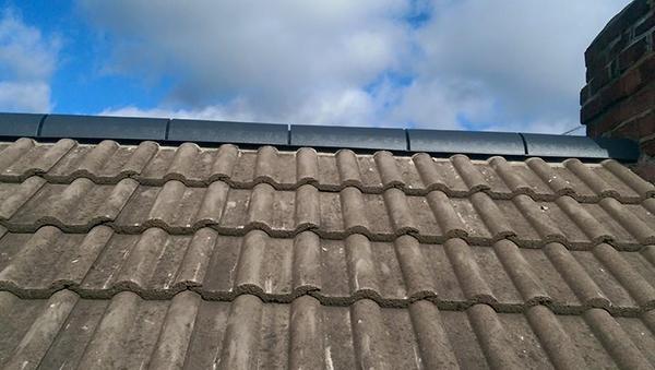 Dry Verge Contemporary Roofline